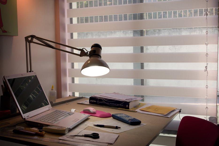 Cortina Sheer Elegance  - Obra de arte em sua janela