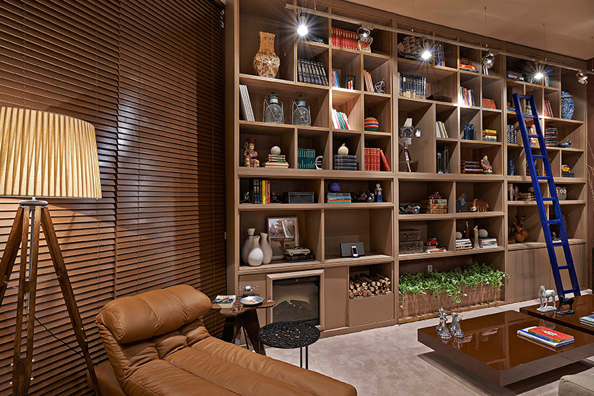 Persiana Horizontal de madeira - RJ - O bom gosto e a naturalidade da madeira